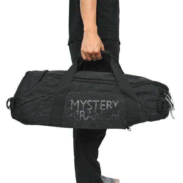 ミステリーランチ MYSTERY RANCH Mission Duffle 40 Black [ミッション][ダッフル][トラベル][旅行][バックパック][3/26 9:59まで ポイント10倍]