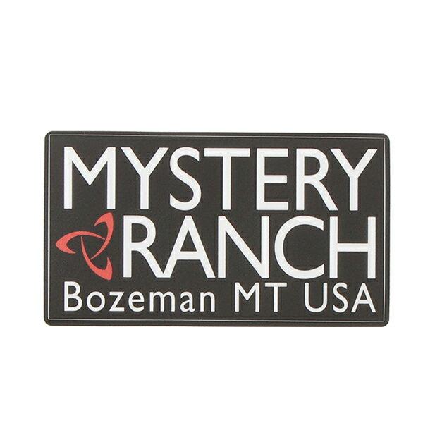 ミステリーランチ MYSTERY RANCH Hritage Logo Sticker Black [ヘリテージロゴステッカー][ブラック]