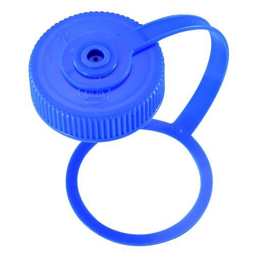 ナルゲン NALGENE 広口0.5リットル用 ループキャップ ブルー [交換用キャップ][パーツ][0.5L][500ml]