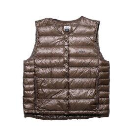 ナンガ NANGA Inner Down Vest (Womens) MOCHA [N1IVMO32]
