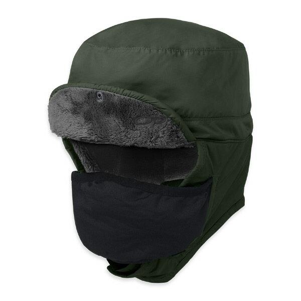 アウトドアリサーチ OUTDOOR RESEARCH Frostline Hat Evergreen [フロストライン][ハット][帽子][キャップ][フェイスマスク][11/23 9:59まで ポイント10倍]