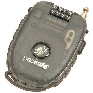 パックセーフ PacSafe 250-4ダイアルリトラクタブル ケーブルロック スモーク [ワイヤーロック][鍵][トラベル][セキュリティ][防犯]