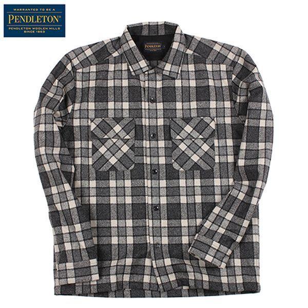 ペンドルトン PENDLETON ボードシャツ JPFit Grey[5/21 9:59まで ポイント10倍]