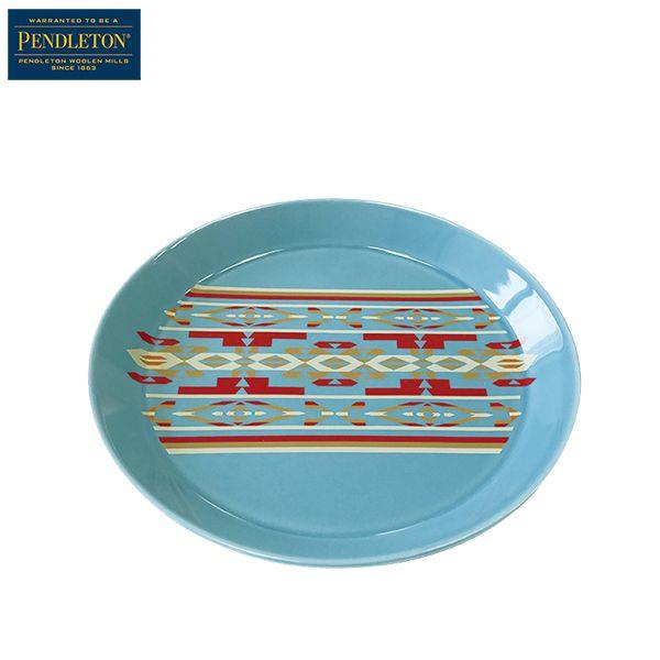 ペンドルトン PENDLETON オリジナルラウンドスモールプレート リトルリバーターコイズ [波佐見焼][小皿][5/21 9:59まで ポイント10倍]