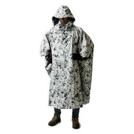 【あす楽対応 平日13:00まで】 プロモンテ PUROMONTE アンアクター(迷彩ポンチョ) ホワイトカモ [ポンチョ][雨具][レインウェア][タープ][雨よけ][GKP02][6/28 9:59まで ポイント10倍]