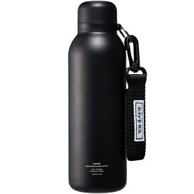 リバーズ RIVERS バキュームフラスク ステム BL ブラック [保温保冷ボトル][500ml][0.5L][超軽量][STEMBLBK]