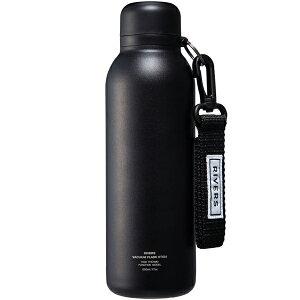 【あす楽対応 平日13:00まで】 リバーズ RIVERS バキュームフラスク ステム BL ブラック [保温保冷ボトル][500ml][0.5L][超軽量][STEMBLBK]