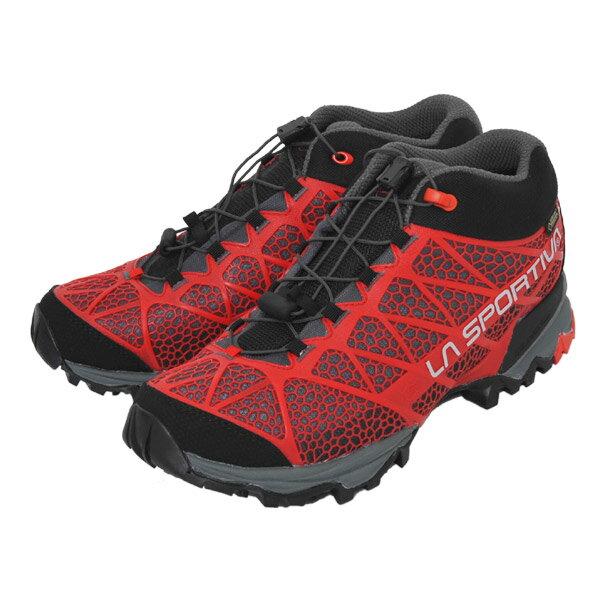 ラ スポルティバ LA SPORTIVA Synthesis Mid GTX Red [シンセシス][トレッキングシューズ][GORE-TEX][トレッキング][シューズ][登山靴][ミッドカット][メンズ][レッド][11/24 13:59まで ポイント10倍]
