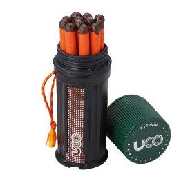 ユーコ UCO タイタン ストームプルーフマッチ キット [24162][防風][防水ケース]
