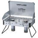 【あす楽対応 平日13:00まで】 ユニフレーム UNIFLAME ツインバーナー US-1900 [ツーバーナー][屋外専用][カセットボ…