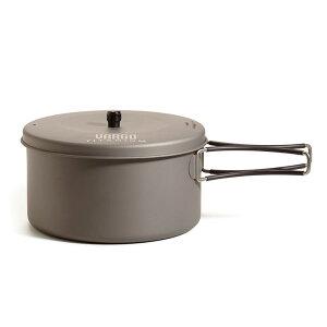 バーゴ VARGO 1.3リットルチタニウムポット [クッカー][ポット][チタンクッカー][キャンプギア][アウトドアギア][調理器具]