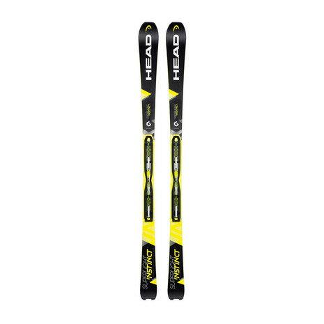 ヘッド(HEAD) SUPERLIGHT INSTINCT/H-SLR11 スキー板 専用ビンディング付 (Men's)
