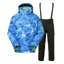 フェニックス(PHENIX) Glenurquhart Check T PS4722P31 BL メンズ スキーウェア スーツ 上下セット (Men's)