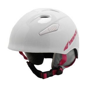 トランス(TRANCE) スキー スノーボード ヘルメット ジュニア キッズ スキーヘルメット 19 IOTA WHT (キッズ)