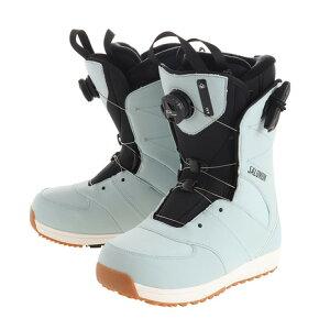 9.0 Womens Black Salomon Snowboards Ivy Boa Snowboard Boot