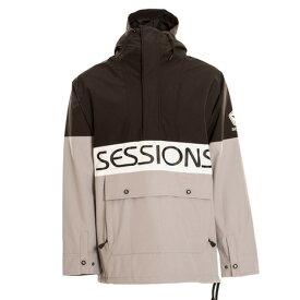 セッションズ(SESSIONS) スノーボード ウェア 20-21 CHAOS プルオーバージャケット BLACK (メンズ)