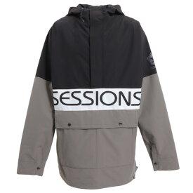 セッションズ(SESSIONS) スノーボード ウェア 19-20 SE19 CHAOS PO JK BLK ボードジャケット (メンズ)