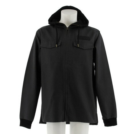 SESSIONS CANVAS HOODIE JKT 長袖 パーカー 177270 GRY (Men's)