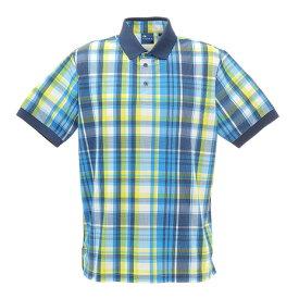 フィドラ(FIDRA) ゴルフ ポロシャツ メンズ マドラスチェックポロシャツ FD5HTG10 WHT (メンズ)