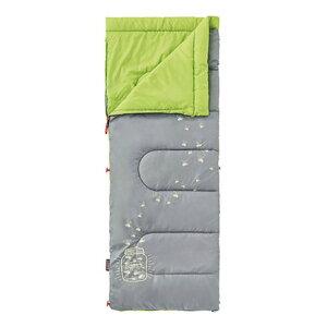 コールマン(Coleman) 寝袋 シュラフ寝具 コンパクト 折りたたみ 軽量 キャンプ用品 グローナイト/C7(ライム) 2000022259 (キッズ)
