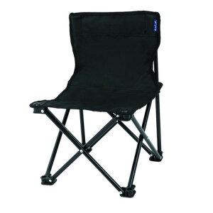 Whole Earth アウトドア チェア 折りたたみ椅子 HAPPY TIME チェア WE23DC30 BLKバーベキュー キャンプ スチール 黒 ブラック 軽量 (メンズ、レディース)