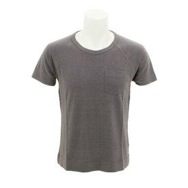ジム tシャツ 半袖 【多少の傷汚れありの為大奉仕】21 シルクネップ天竺 T 72220110 004 (Men's)