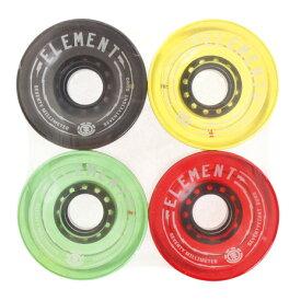 エレメント(ELEMENT) スケートボード エクストリームスポーツ SOFT WHEEL AH027303 AST スケボー ウィール (メンズ、レディース)