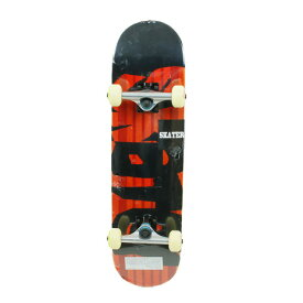SILVER FOX スケードボード スケーターコンプリート SB4009-28x7.4inch (Men's、Lady's、Jr)