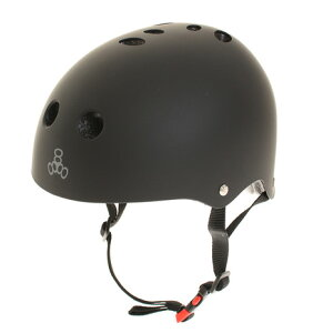 【25日0時~3時 エントリーでポイント最大14倍】トリプルエイト(Triple Eight) ヘルメット T818TC BKRU (メンズ)