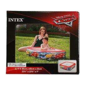 インテックス(INTEX) ビニールプール 小型 家庭用 Cars プール 85×85×23 57101NP/2019 (メンズ、レディース、キッズ)