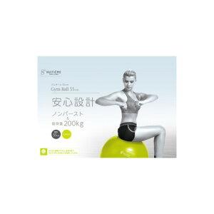 ウィッテム(HUITIEME) バランスボール 体幹 エクササイズ インナーマッスル ジムボール 55cm (メンズ、レディース、キッズ)