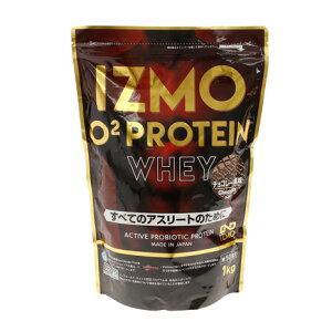 イズモ(IZMO) IZMO O2 プロテイン ホエイ100 乳酸菌 マルチビタミン配合 チョコレート風味 1000g 約50食入 (メンズ、レディース)