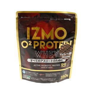 イズモ(IZMO) IZMO O2 プロテイン ホエイ100 乳酸菌 マルチビタミン配合 チョコレート風味 350g 約18食入 (メンズ、レディース)
