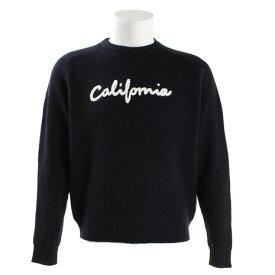 オーシャンパシフィック(Ocean Pacific) カリフォルニアワッフルニット長袖セーター 538100NVY (Men's)