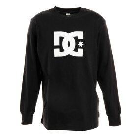 ディーシー・シュー(DC SHOE) Tシャツ メンズ 長袖 19 STAR クルーネック ロゴ 19FW5425J924BLK (Men's)