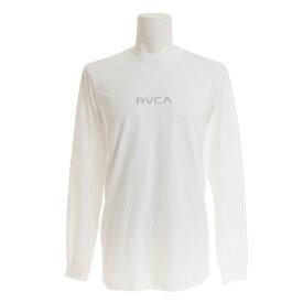 RVCA 【オンライン特価】 SMALL RVCA ロングスリーブTシャツ AJ041054 WHT (Men's)