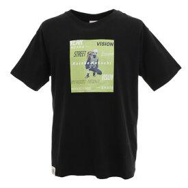 ヴィジョン(VISION) Tシャツ 半袖 はたけカカシTシャツ 9523156-01BLK オンライン価格 (Men's)