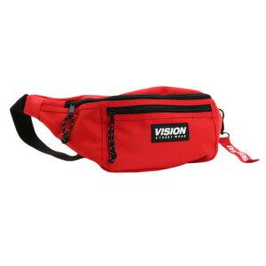 ヴィジョン(VISION) ウエストポーチ 9723306-12RED (メンズ)