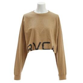 RVCA 【オンライン特価】 RPPD LS TEE ロングスリーブTシャツ AJ043050 BEG (Lady's)