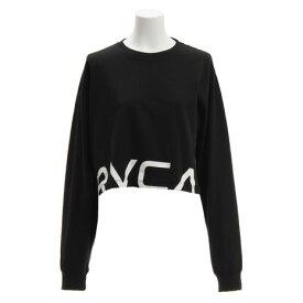 RVCA 【オンライン特価】 RPPD LS TEE ロングスリーブTシャツ AJ043050 BLK (Lady's)