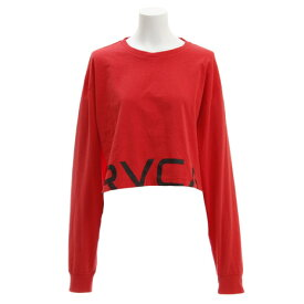RVCA 【オンライン特価】 RPPD LS TEE ロングスリーブTシャツ AJ043050 RED (Lady's)