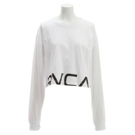 RVCA 【オンライン特価】 RPPD LS TEE ロングスリーブTシャツ AJ043050 WHT (Lady's)