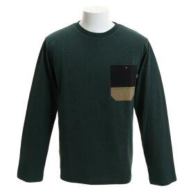パワー・トゥ・ザ・ピープル(POWER TO THE PEOPLE) ムービングポケット 長袖Tシャツ 9712116-50DGR (Men's)