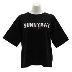 パワー・トゥ・ザ・ピープル(POWER TO THE PEOPLE) SUNNYDAYプリントTシャツ 9512514-01BLK (Lady's)