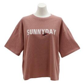 パワー・トゥ・ザ・ピープル(POWER TO THE PEOPLE) SUNNYDAYプリントTシャツ 9512514-15PNK (Lady's)