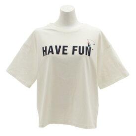 パワー・トゥ・ザ・ピープル(POWER TO THE PEOPLE) HAVEFANプリントTシャツ 9512515-06OFF (Lady's)