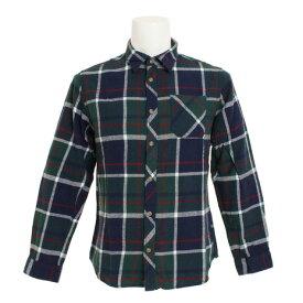 パワー・トゥ・ザ・ピープル(POWER TO THE PEOPLE) ネルチェックシャツ 8712100-52GRN (Men's)