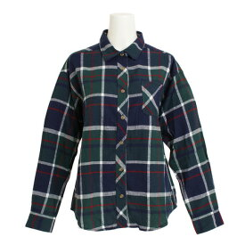 パワー・トゥ・ザ・ピープル(POWER TO THE PEOPLE) ネルチェックシャツ 8712500-52GRN (Lady's)