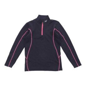 ミズノ(MIZUNO) ジュニア ブレスサーモエブリプラス ハーフジップシャツ Z2MA792076 (Jr)