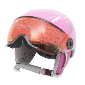 ヘッド(HEAD) ジュニア スノーヘルメット 19MAJA VISOR PINK (Jr)